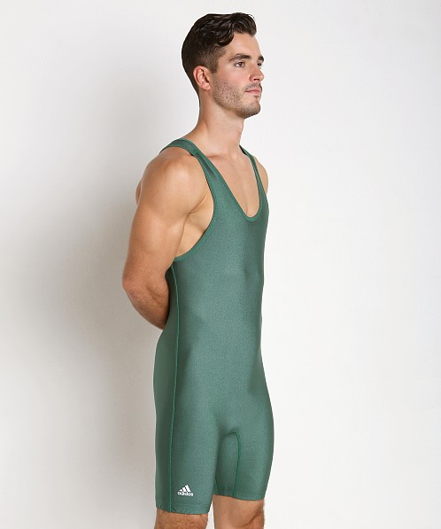 Adidas Solid Wrestling Singlet Hunter Green