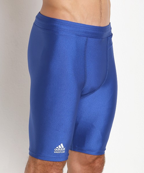 Adidas Wrestling Compression Short Royal