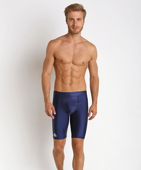 Adidas Wrestling Compression Short Navy