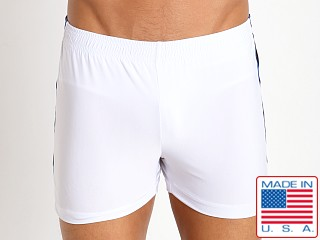 Pistol Pete Slinky Scrimmage Short White