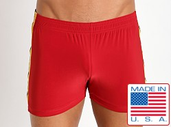 Pistol Pete Slinky Scrimmage Short Red