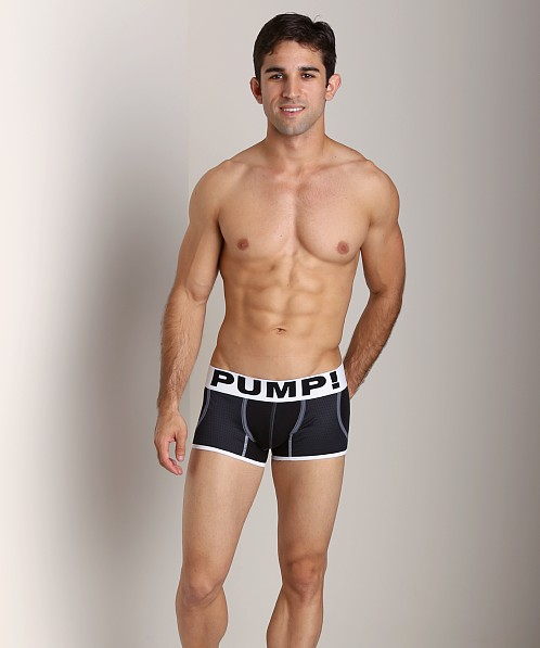 Pump Pocketed Black Jogger Trunk
