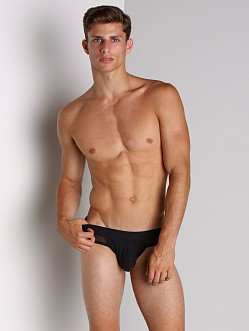 Tulio Supplex Pouch Mesh Brief Black