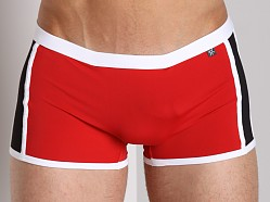 Tulio Elevator Pouch Trunk Red