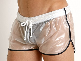 McKillop Ice Transparent Nylon Plastic Shorts Black Trim