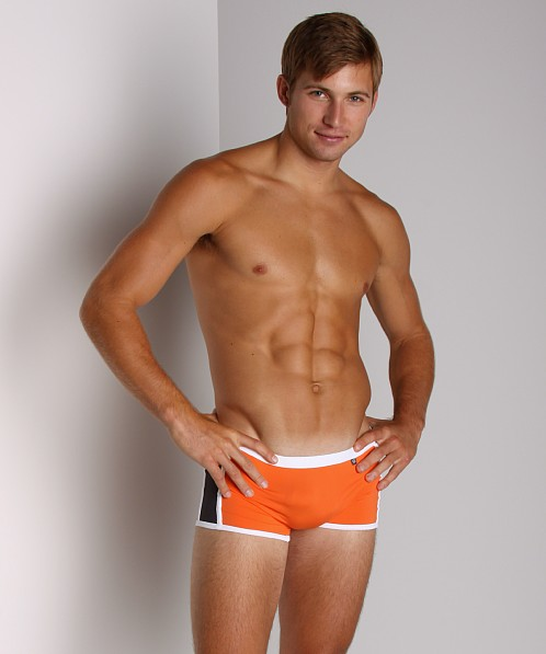 Tulio Elevator Pouch Trunk Orange