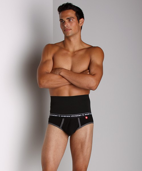 Andrew Christian Active Slim EFX Show-It Brief Black