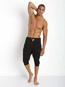 2xist Active Original Cargo Capri Black