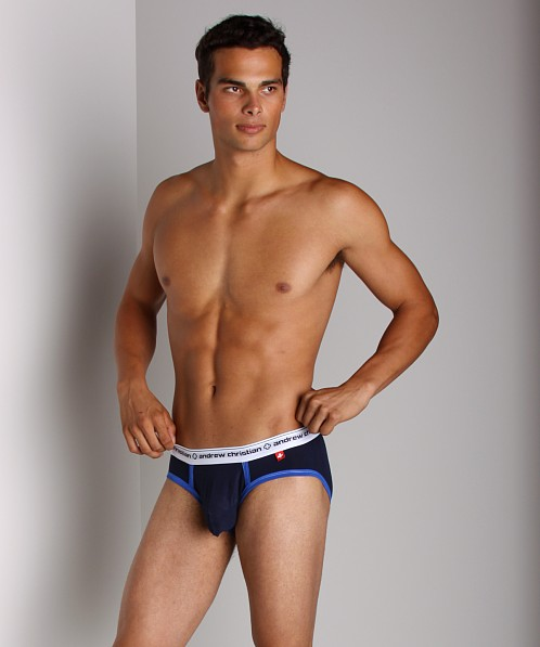 Andrew Christian Almost Naked Sports Brief Navy