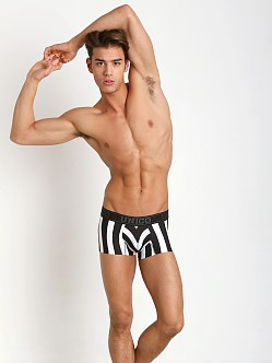 Mundo Unico Tango Short Boxer Black/White Stripes
