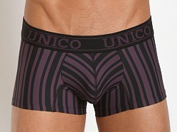 Mundo Unico Nazca Short Boxer Black/Purple Stripes