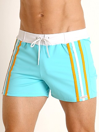 You may also like: Sauvage Side Striped Swim Trunk Aqua