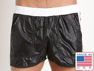 Pistol Pete Skydive Onion Skin Nylon Short Black