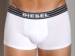 Diesel Essential Striped Logo Kory Trunk White