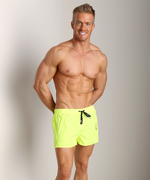 Diesel Coralrif Mohawk Swim Shorts Yellow