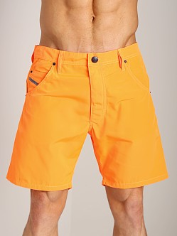 Diesel Kroobeach Board Shorts Orange