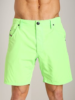 Diesel Kroobeach Board Shorts Lime