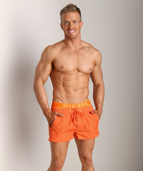 Diesel Barrely Swim Shorts Orange
