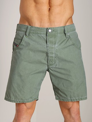 Diesel Kroobeach Board Shorts Olive