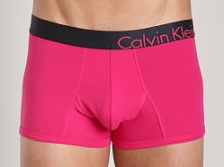 Calvin Klein Bold Cotton Trunk Parrot Fish Red
