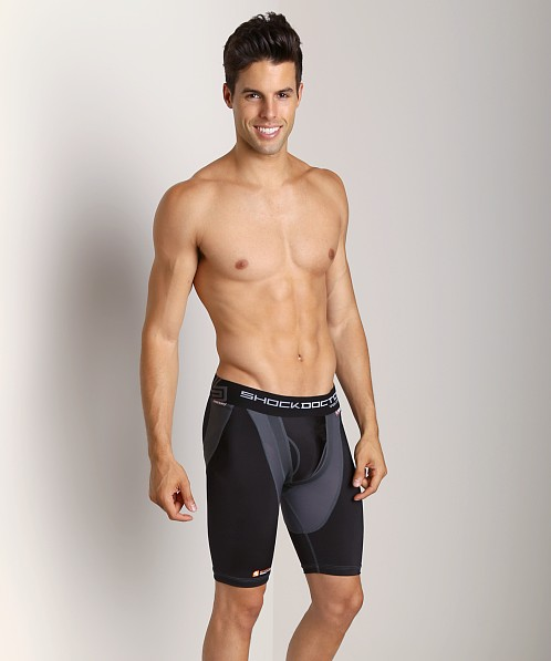 Shock Doctor Velocity Motion 360 Short with Inner Brief Black