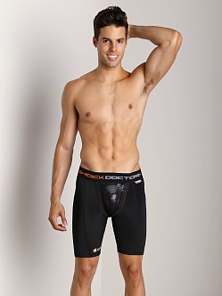 Shock Doctor Ultra Compression Short with Cup Black
