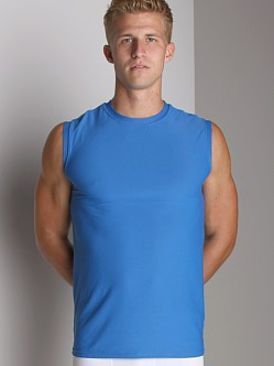 Puma Pro-Tech Muscle T-Shirt Bright Blue