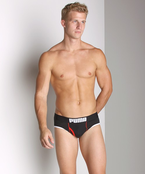 Puma Fitness Brief Black/White