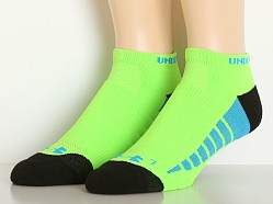 Under Armour Full Cushion Low Cut Running Socks Green