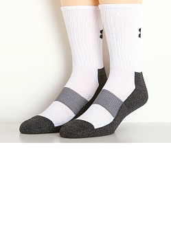 Under Armour All Sport Performance Crew Socks White