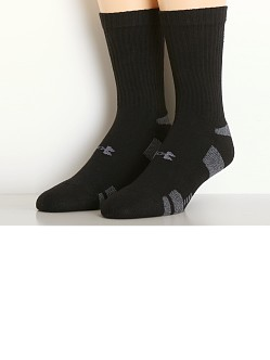 Under Armour All Sport Performance Crew Socks Black
