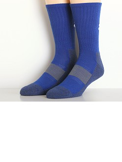 Under Armour All Sport Performance Crew Socks Black Royal