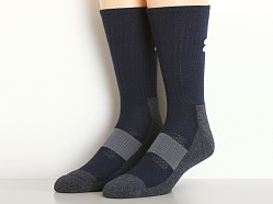Under Armour All Sport Performance Crew Socks Black Navy