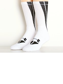 Under Armour All Sport Ignite Crew Socks White/Black