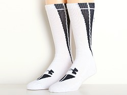 Under Armour All Sport Ignite Crew Socks White/Midnight