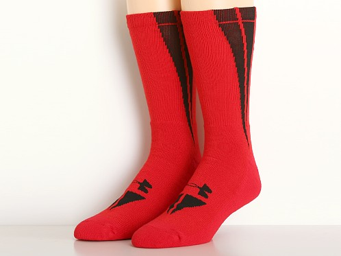 Under Armour All Sport Ignite Crew Socks Red/Black