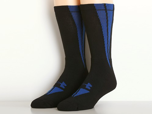 Under Armour All Sport Ignite Crew Socks Black/Royal
