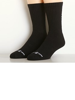 Under Armour Charged Cotton Crew Six-Pack Socks Black
