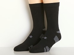 Under Armour Heat Gear Crew Socks Three-Pack Black