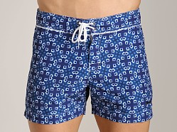 Parke and Ronen Classic Print Trunk Helios Blue