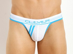 Clever Standford Sporty Nylon Spandex Thong White