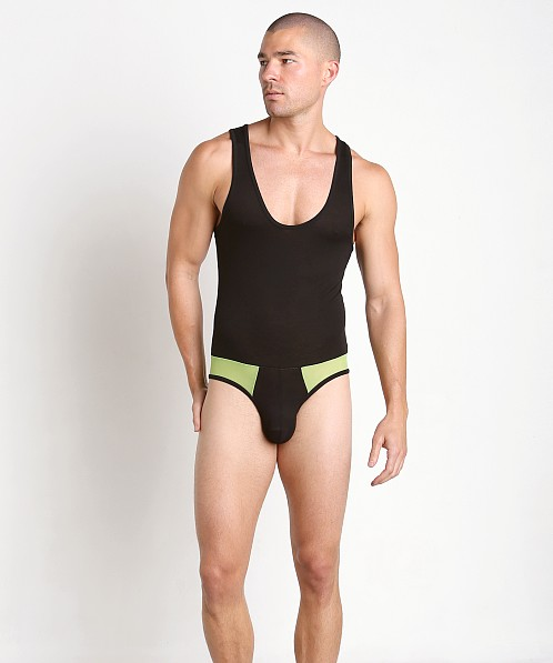 Go Softwear Hardcore After Dark Air Bodysuit Black/Lime