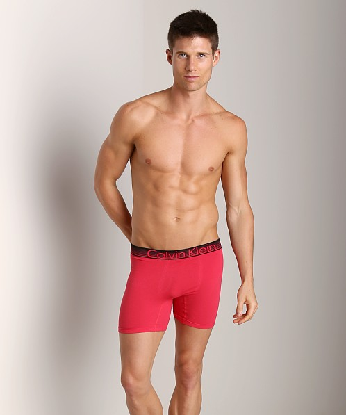 Calvin Klein Concept Cotton Boxer Brief Redhead