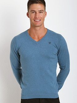 Diesel Ben V-Neck Sweater Blue Ash