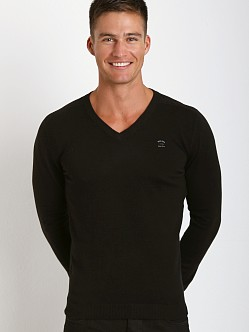 Diesel Ben V-Neck Sweater Black