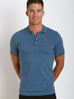 Diesel Nox Polo Shirt Blue Ash
