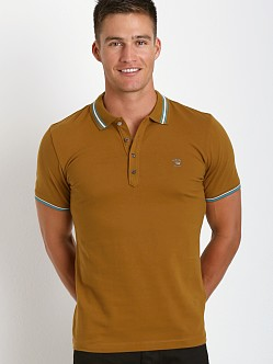 Diesel Nox Polo Shirt Deep Wood