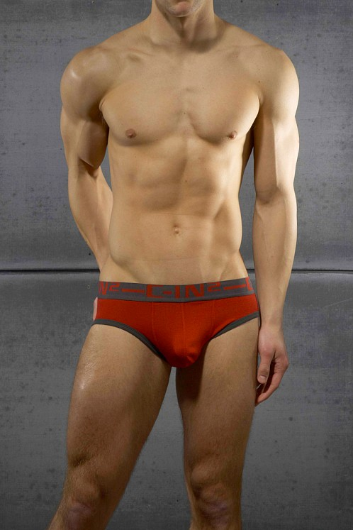 C-IN2 Bamboo Slider Brief Chili Red