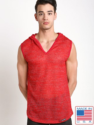 Go Softwear Nantucket Sleeveless Hoody Red