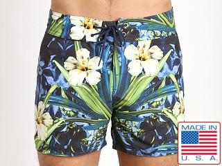 Sauvage Laguna Surf Swim Short Blue Hibiscus